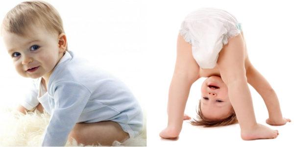 los pañales deben permitir la movilidad del bebe y evitar irritaciones