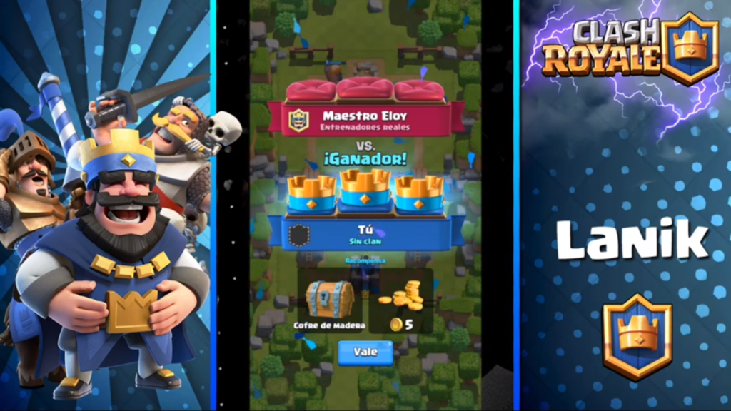 recompensas en clash royale